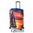 Чехол для чемодана Sailboat Sunset EBHJJL01-L